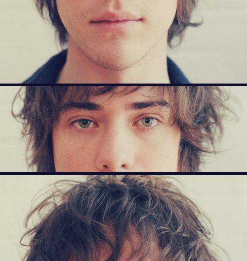 Andrew VanWyngarden. Interesting portrait idea