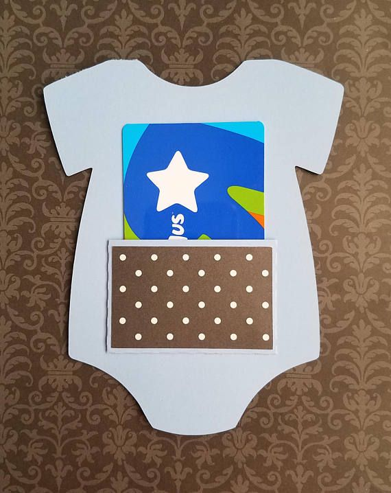 gift card holder baby onesie lavender polka dots  gift