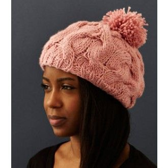 Silk Lined Bobble Hat    Quick Overview  Contemporary bobble hat in chunky knit with 100% silk lining   Details   Contempory chunky knit bobble hat in 100% wool with a 100% silk lining.  Colour options: black, camel, grey, pink. .