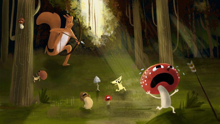 La chasse aux champignons commence!! :D