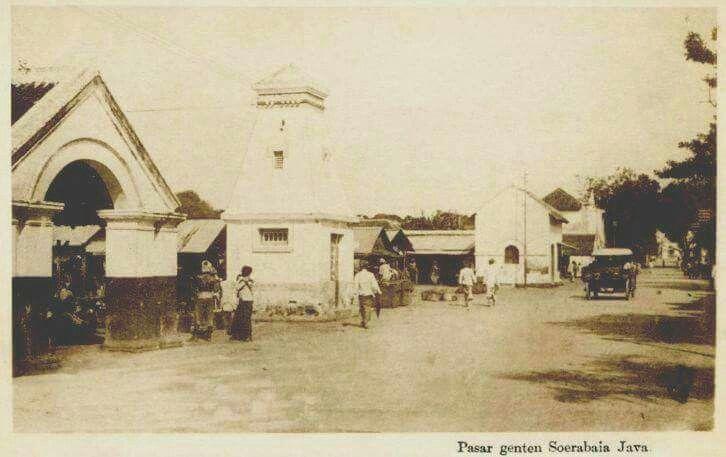 Pasar Genteng 1910