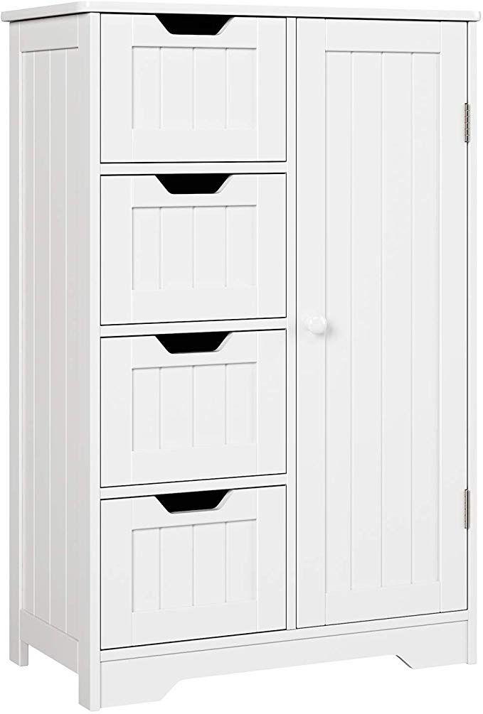 30+ White bathroom floor cabinets best