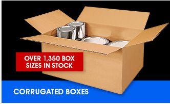 Supplies for shipping products. Uline - Corrugated Boxes -  Over 1,350 Box Sizes Always In Stock