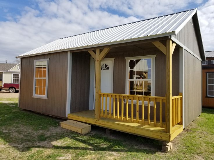 16 x 24 Side Cabin 384 Sq. Ft. Includes all appliances and