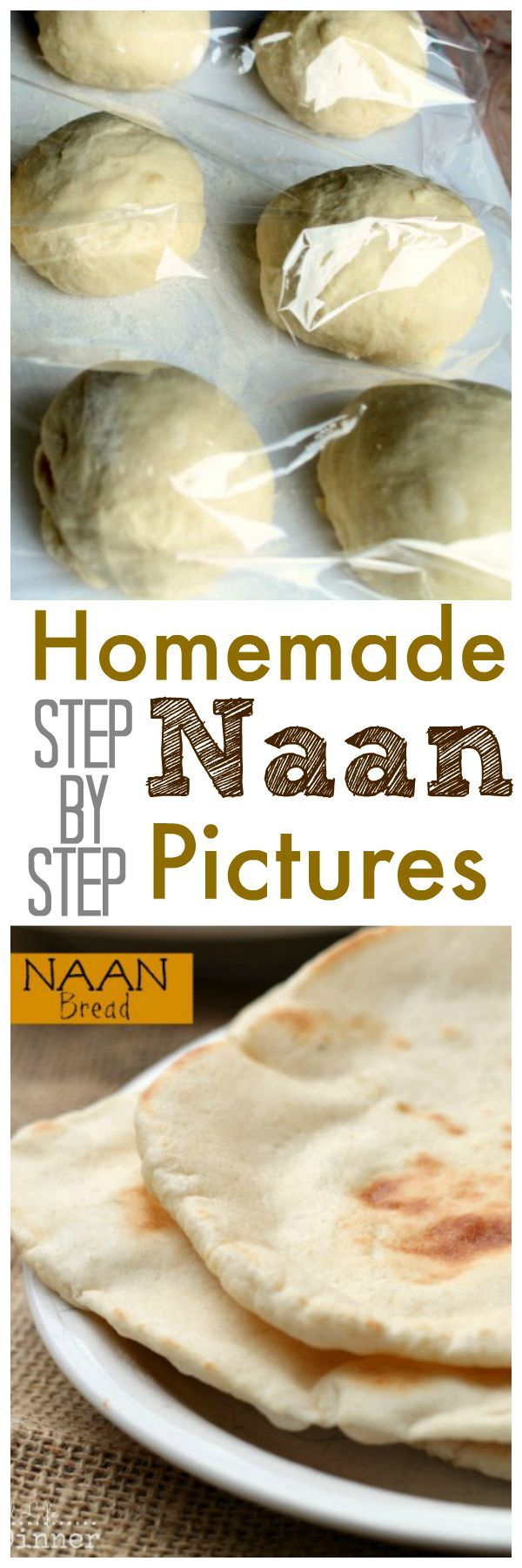 Making your own Naan isn't as complicated as you think. This How to make Naan Bread Recipe with step by step pictures will have you making it like a pro in no time! ~ reallifedinner.com