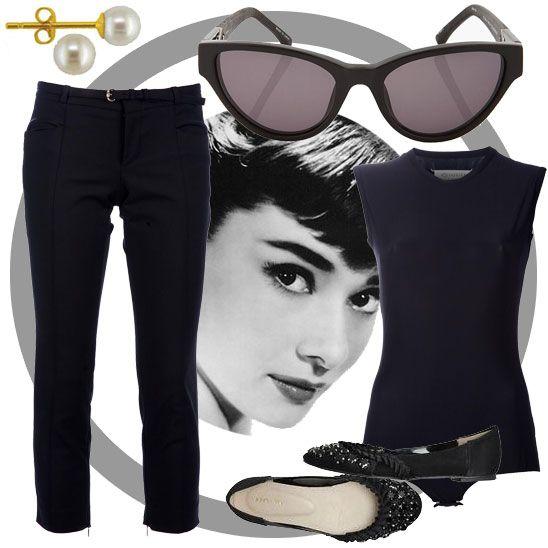 Vintage lookbook: Audrey Hepburn 1950s