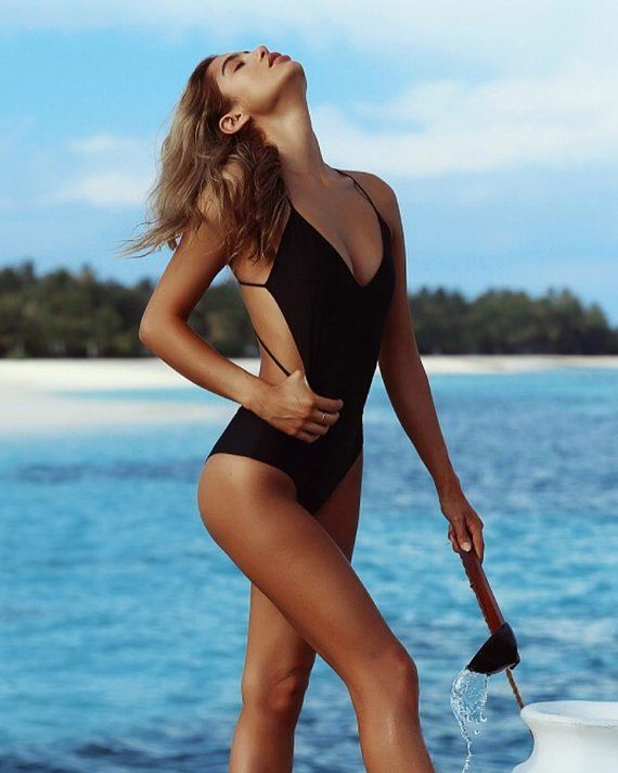 062766331be61 One Piece Swimming Suit Women Swimwear Strappy Swimsuit Sexy Swimsuit Open  Back Swimming Suit Bathin