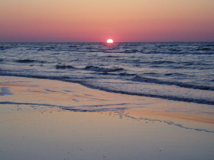 Sunset, Galveston Island, Texas