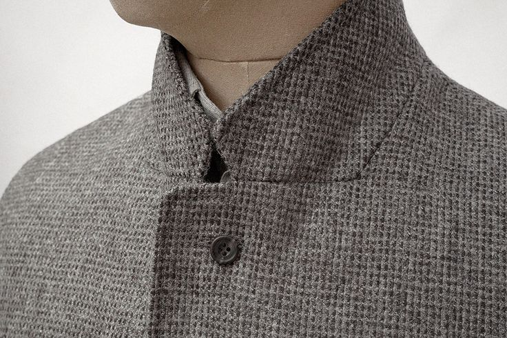 S.E.H Kelly // SB2 Jacket Grey-Charcoal Close Up
