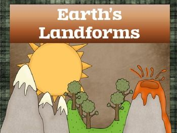 This is a powerpoint presentation over Earth's Landforms.  It can be easily adapted for any elementary science classroom. Each landform include...