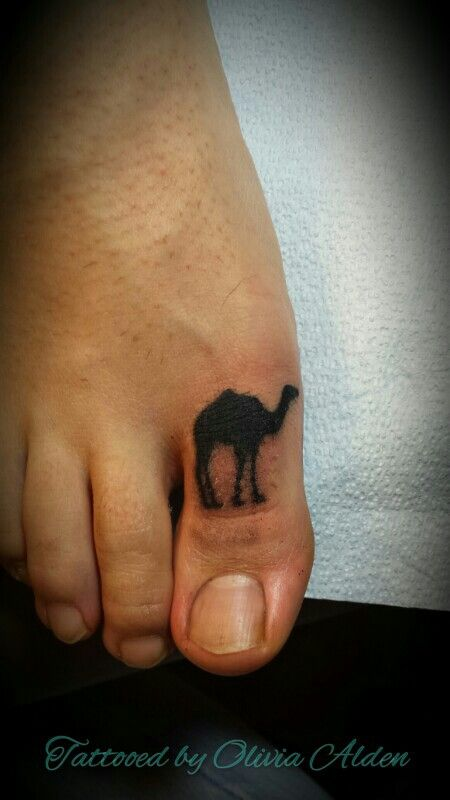Pin camel toe tattoo by tattoos ryan stained skin nerk on for Toe tattoos pinterest