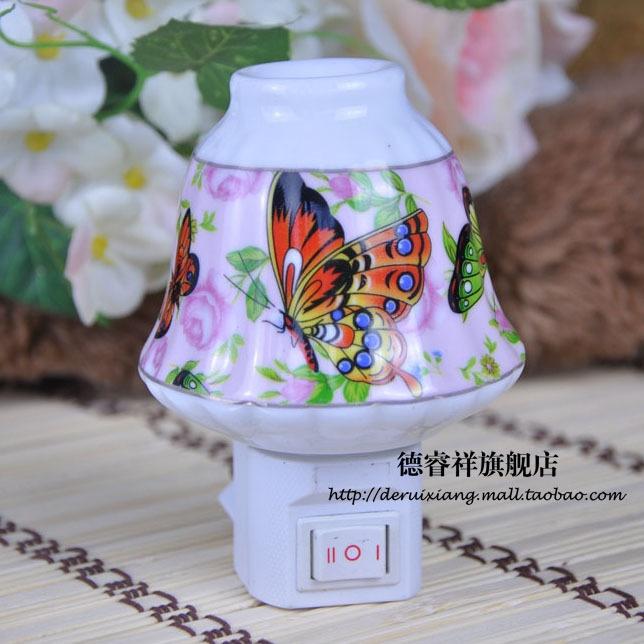 Porcelain Night Lights Creative Aroma Energy Saving Direct