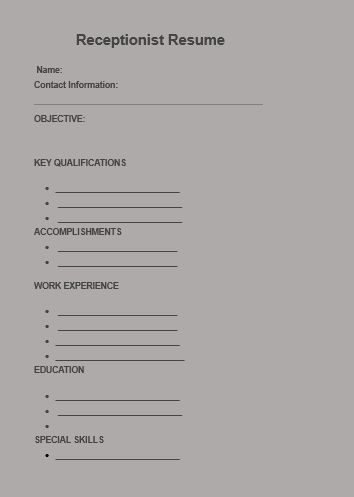 Best 25+ Receptionist ideas on Pinterest Application for - medical receptionist resume