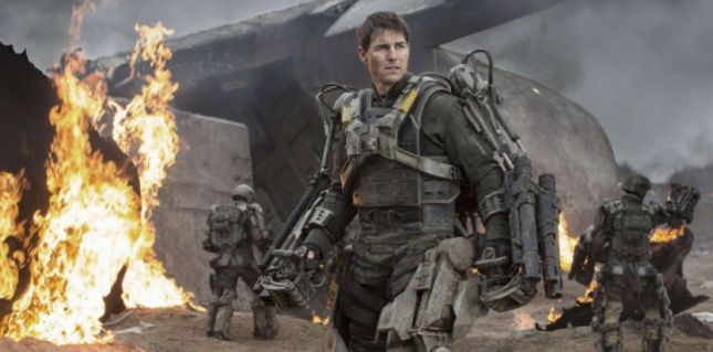"Image tirée du film ""Edge of Tomorrow"" de 2014 (David James/AP/SIPA)"
