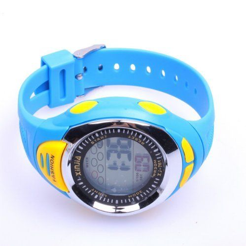 Blue Multifunction Sport Watch with LED Digital Alarm Clock by Neewer. $1.28. Specifications:     * Alarm clock function included     * 3-5 ATM water resistant     * glass:Acrylic material glass     * Display analog and digitial     * Movement digital     * Material:ABS and Stainless steel    package content :  1 x Wrist Watch