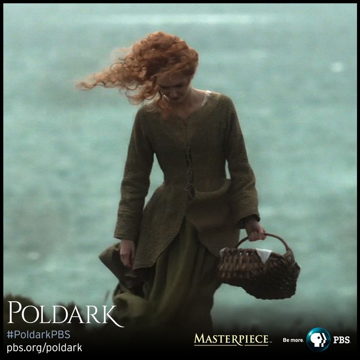 Eleanor Tomlinson as Demelza. | Poldark, as seen on Masterpiece PBS