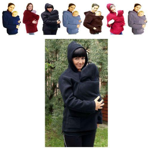 Tragejacke Umstandsjacke Tragepullover Fleecepullover für Tragetuch Bauchtrage | eBay