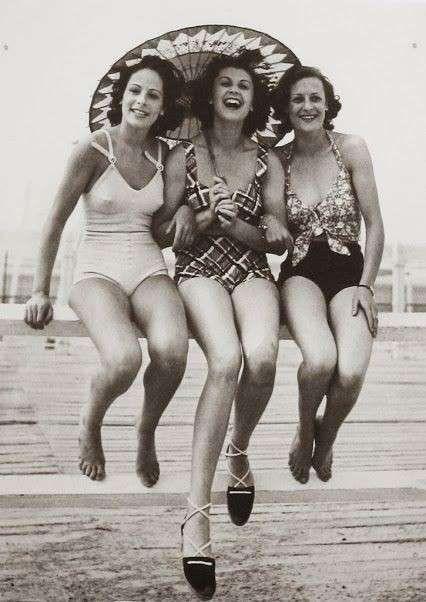 Look anni '30 - Costumi da bagno anni '30