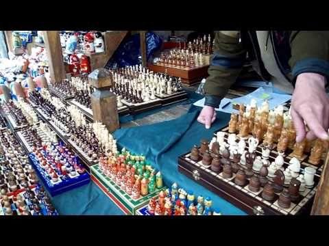 Life in Russia - the Izmailovo market
