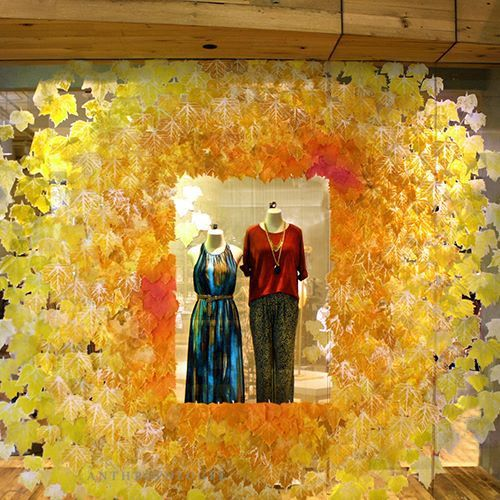 Anthropologie US Autumn window display | International Visual