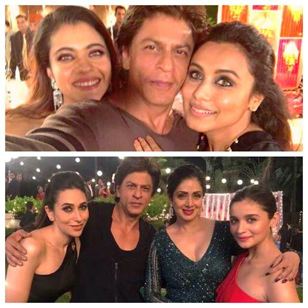 Did you know that Shah Rukh Khan's reunion with Kajol, Rani Mukerji, Alia Bhatt, Sridevi, Karisma Kapoor was for Aanand L Rai's… #FansnStars