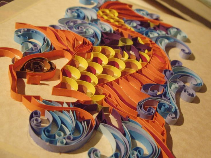A Can of Crafty Curiosities: Quiller Koi of Quillingtastic Quillingness