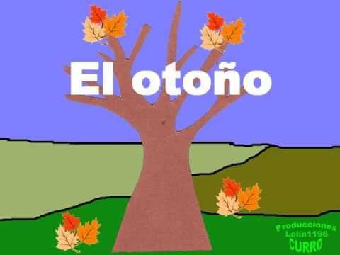 POESÍA Infantil El otoño - YouTube