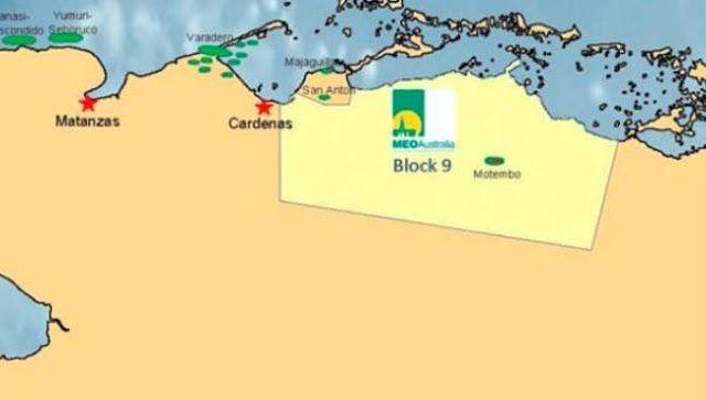 HALLAN RESERVA PETROLERA DE 8 MIL MILLONES DE BARRILES EN CUBA   Hallan reserva petrolera de 8 mil millones de barriles en CubaEl yacimiento está entre los 2.000 y los 3.500 metros de profundidad. La Petrolera Australia anunció a través de un comunicado el importante hallazgo de reservas ubicado en la provincia de Matanzas y Villa Clara. La empresa Meo Australia informó este miércoles el descubrimiento de un yacimiento de reservas de petróleo en Cuba cercanas a los ocho mil millones de…