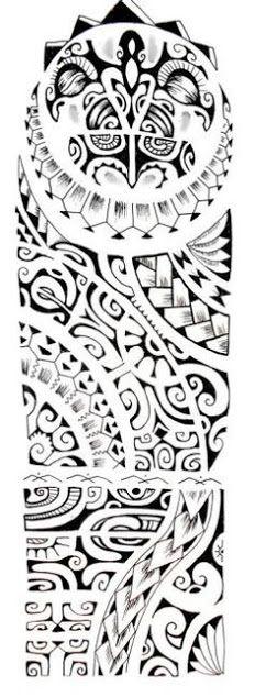 marquesan tattoo designs for men - Google Search