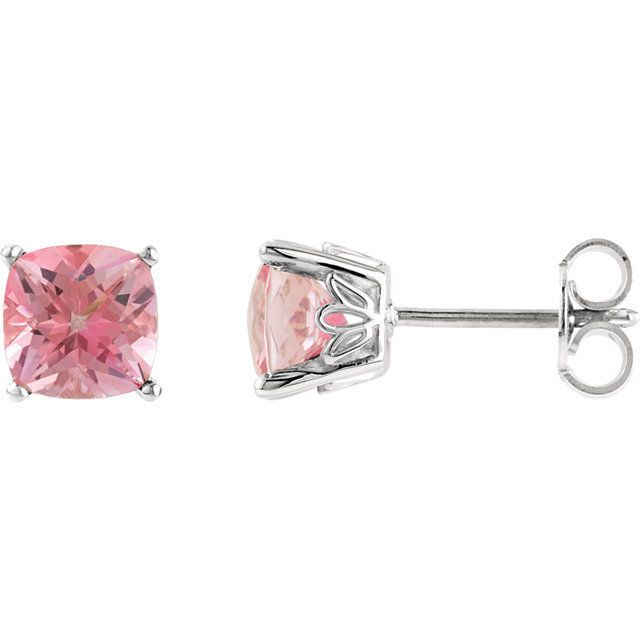 Pink Passion Topaz Earrings $89.25 #MothersDayGiftIdea