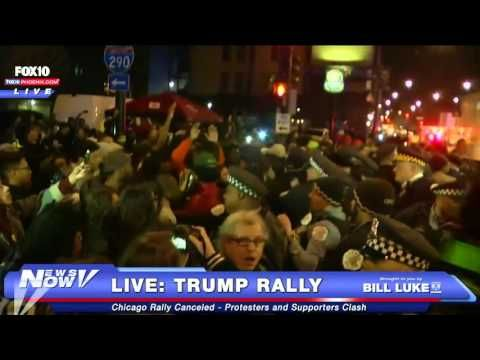 Here is a story by someone who was there to see what went down in Chicago at the Trump rally that was cancelled.The Convergence of Political Interests United To Stop Donald Trump…   The Last Refuge