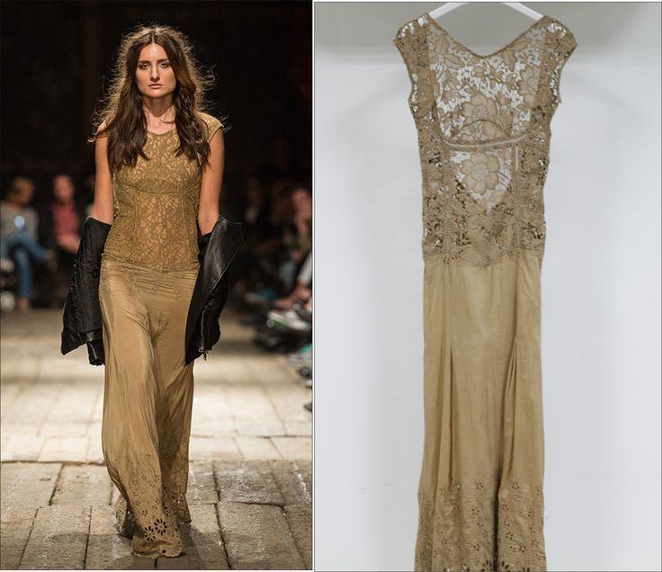 Vintage Lace Maxi Dress From Customer's Fashion Show