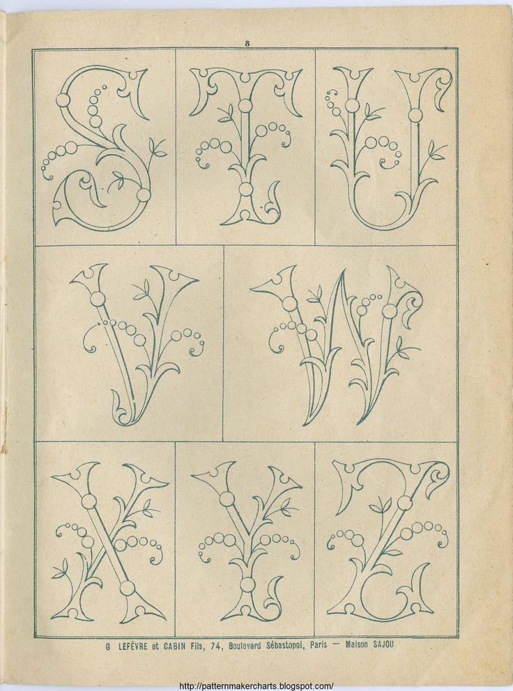 Free Historic Old Pattern Books: Sajou No 342: