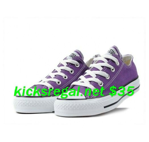 Purple Converse... I just got these today!      #cheap #converse #outfit for #Girls