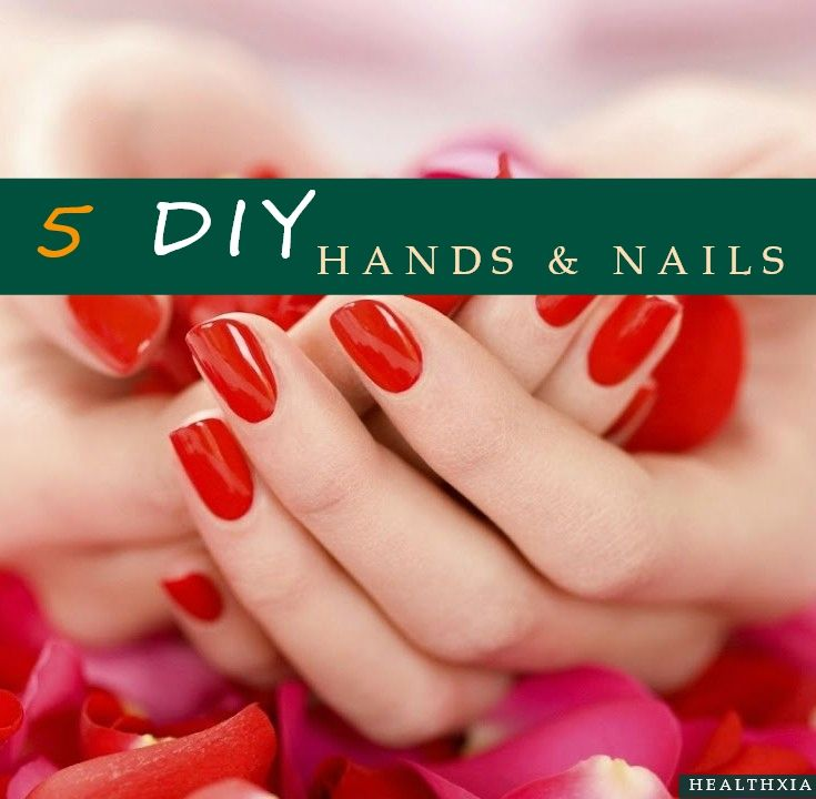 We work our hands hard, soak them in detergents and expose them to sun, wind, cold and heat. Hands reveal our health and character and, more than any other feature, betray our age. They contain only a few oil-producing glands, so they are very prone to dryness. Give yourself a weekly manicure to prevent problems such as split nails and chapped skin.