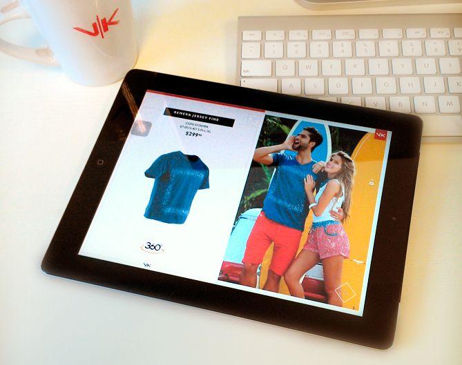 El nuevo catálogo está en todos lados... Miralo en tu tablet o smartphone con VK App! Descargá la aplicación y descubrí videos, prendas en 360º y mucho más de la nueva colección Paradise Island!