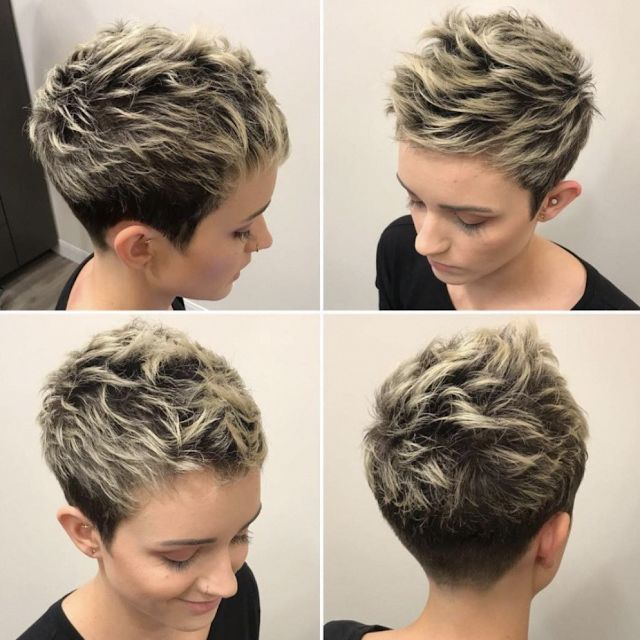 short hairstyles 2020 for women #shorthairstylesforthickhair