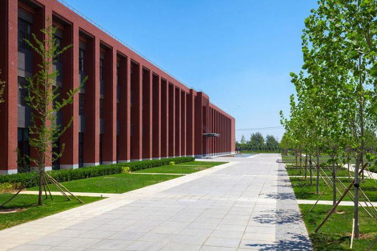 项目名称:格雷服装产业园 项目地点:河北衡水市 设计单位:阿普贝思(UP+S) 国际联合设计机构