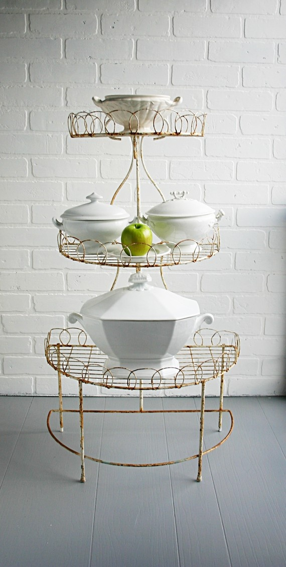 162 best Tiered Buffet/Display Stands images on Pinterest | Wrought ...