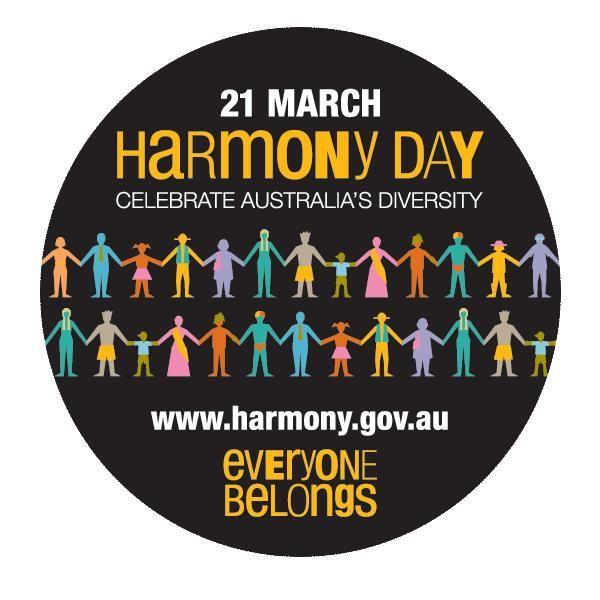 21 March Harmony Day http://www.globalkidsoz.com.au/cultural_calendar.php
