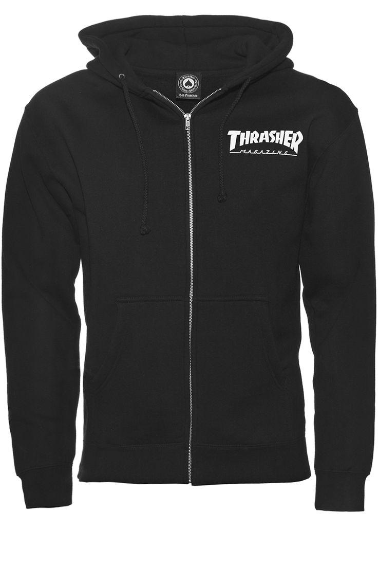 Thrasher Skate Mag Logo Zip hoodie