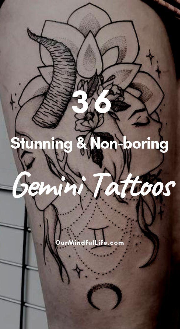 54 Stunning and Non,boring Gemini Tattoos