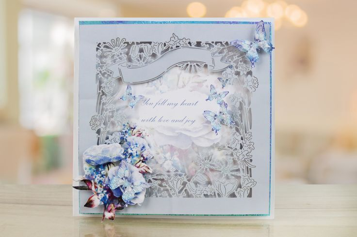 The stunningly detailed Botanical Bouquet by Tattered Lace.  For more information visit: www.tatteredlace.co.uk