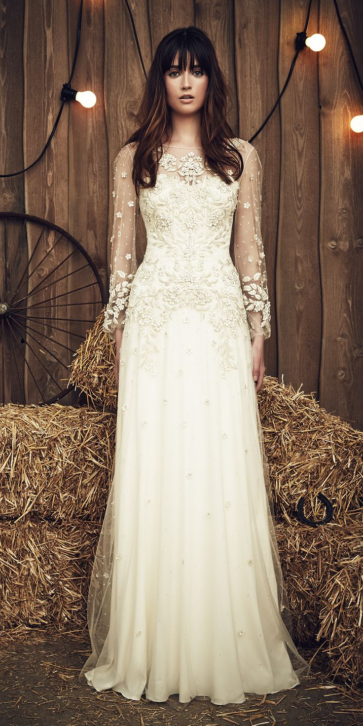 Lace wedding dress ivory january 2019  best Wedding Dresses  Shoes Accessories images on Pinterest