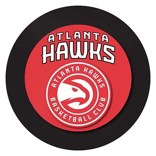 Trademark Global, Inc. Atlanta Hawks Padded Swivel Bar Stool with Back