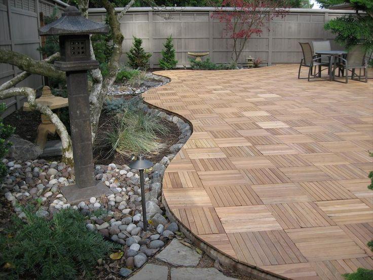 1000 Ideas About Wood Deck Tiles On Pinterest Outdoor