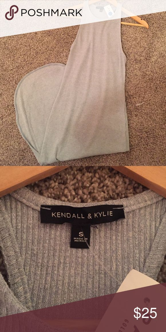 Blue Grey Kendall and Kylie Dress Long Kendall and Kylie dress brand new. Kendall & Kylie Dresses Maxi