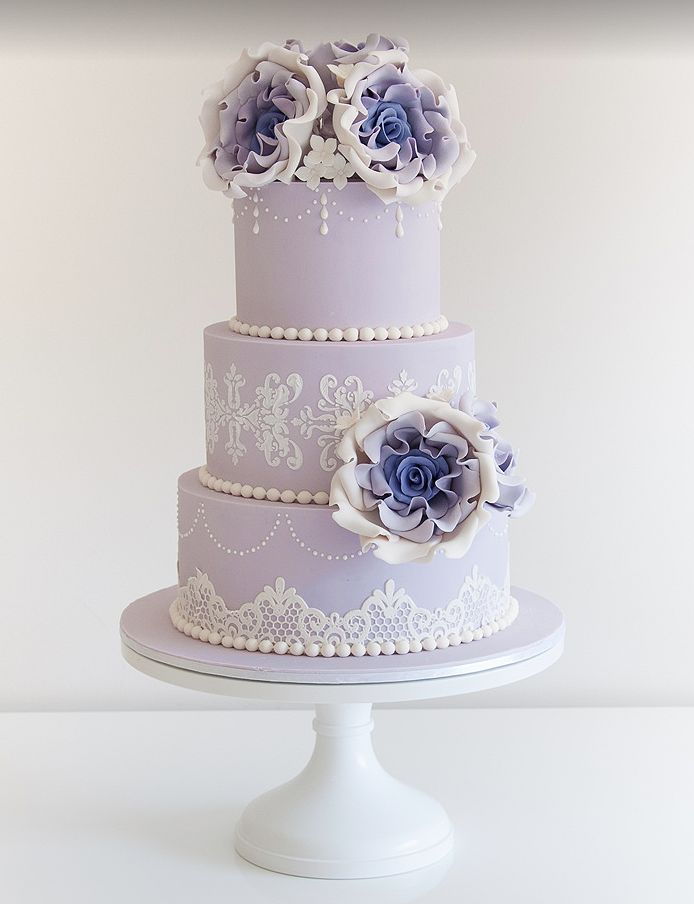 wedding cake designs lavender 17 best images about purple cakes or decor layers on 22484