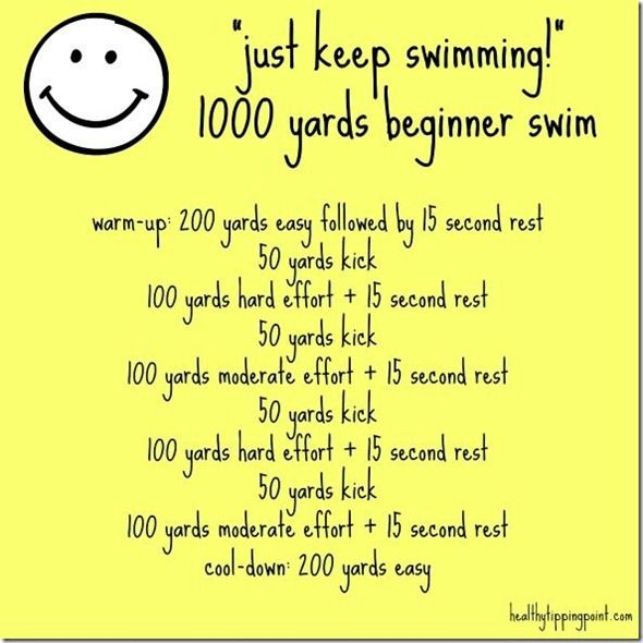 Pool Workout for Beginner
