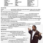 """This fun, 1 page overview of the early years of American Civil War and Reconstruction periods includes 25 vocabulary terms in a word bank at the top, and then a cloze reading in which students fill in the blanks. However, the reading has been translated into """"Snoop Speak"""" to make it a little more fun for your students. Drop it like it's hot!"""